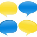 Speech bubbles are part of conversation