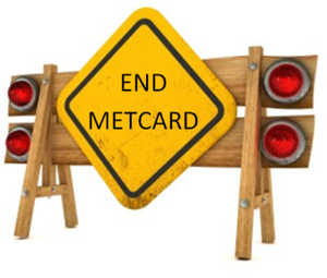 End of the line for metcard