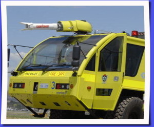 Aviation fire truck