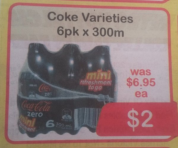 Ad for 300m coke